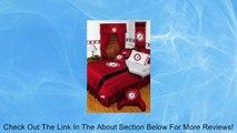 ALABAMA CRIMSON TIDE QUEEN 15 PIECE BEDDING COMFORTER BED IN A BAG BEDROOM DECOR Review
