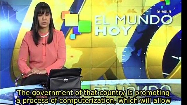 Cuban gov't fosters computerization