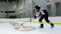 Demo of the Skills of this talented hockey player : On the Ice with Sidney Crosby