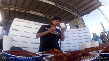 New Bacon Eating Record at Daytona 500 : 182 bacon slices in 5 min