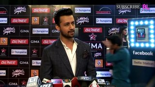 Atif Aslam at the red Carpet of GIMA Award - Magic of Atif Aslam