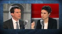 """Valls: """"Ma méthode c'est d'être à l'écoute et en même temps assumer"""""""