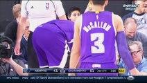 NBA - DeMarcus Cousins défonce une chaise en rejoignant le banc des Kings