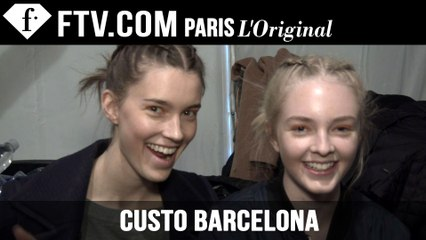 Custo Barcelona Hair & Makeup Trends Fall 2015 | New York Fashion Week NYFW | FashionTV
