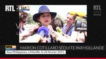 """Marion Cotillard : """"François Hollande a un discours intelligent"""""""