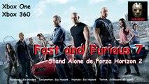 Fast and Furious 7 adapté sur Xbox One et Xbox 360 par l'équipe de Forza Horizon 2