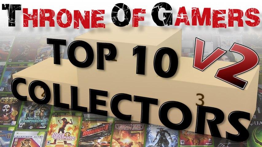 TOP 10 Collections de jeux vidéo