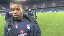 Avant HAC - AC Ajaccio, interview de Geoffrey Malfleury