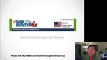 GET CASH FOR SURVEYS REVIEW   MAKE MONEY FILLING SURVEYS