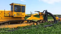 Plowed Installation of 12  Flexible Farm Drainage Tile with Inter-Drain 2040 SP