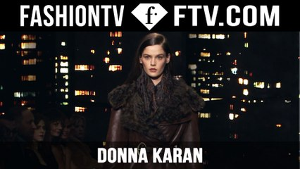 Donna Karan 2015 Show |  New York Fashion Week NYFW | FashionTV
