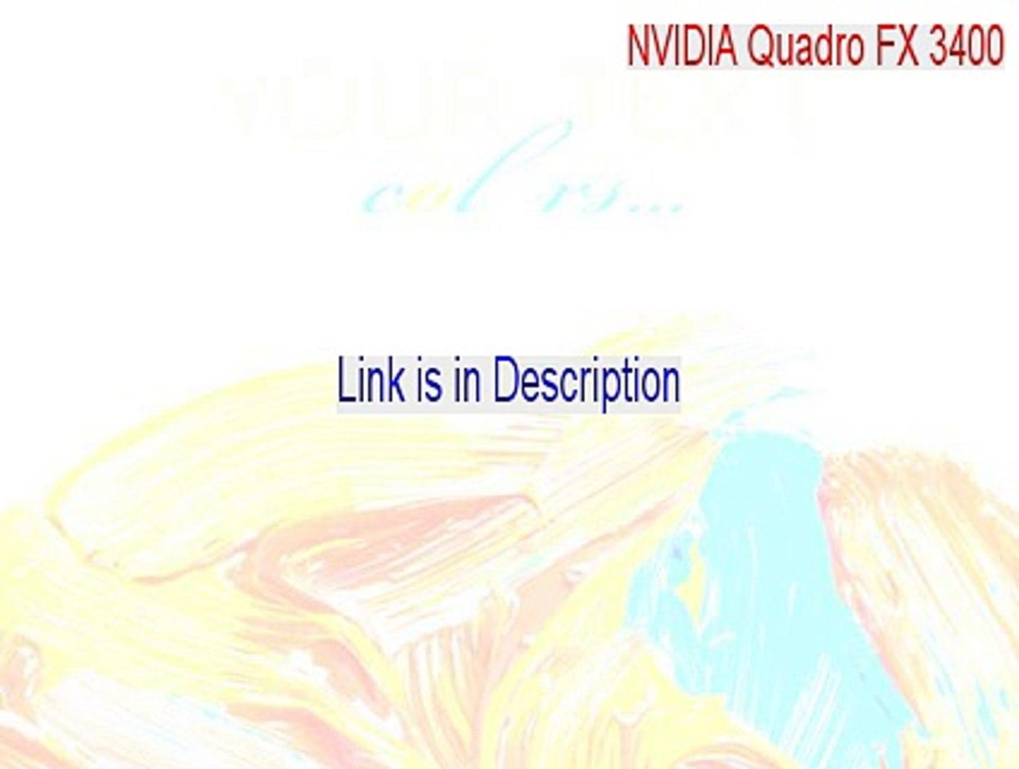 nvidia quadro fx 4600 driver download