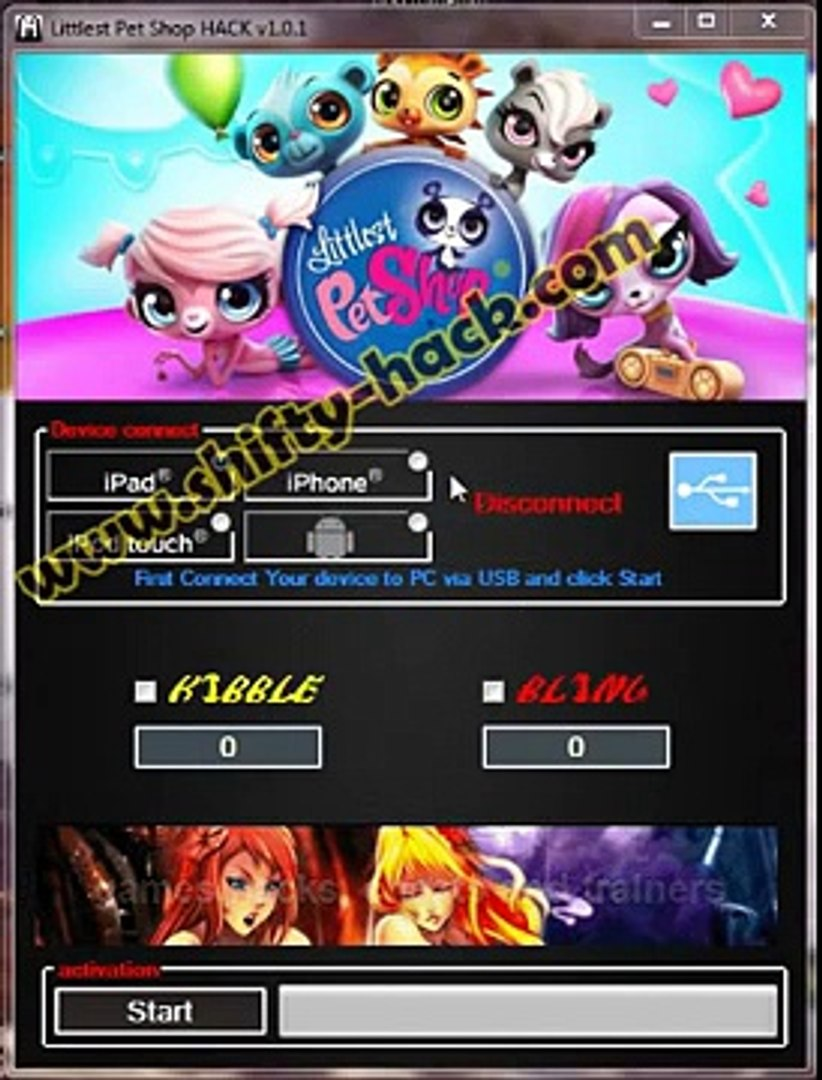 Littlest Pet Shop Hack Android and iOS