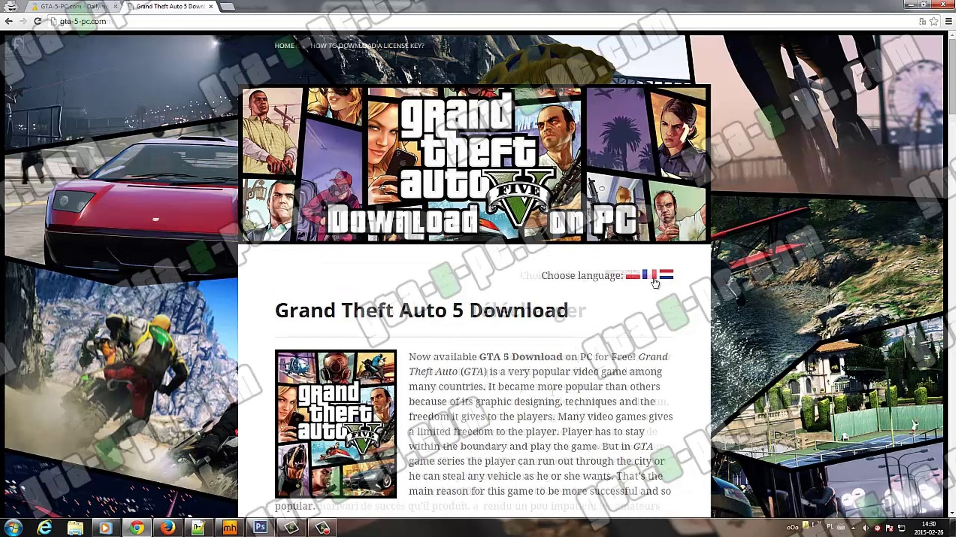 How to download a license key - GTA-5-PC com