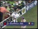 Italia vs Nigeria - USA 94 - Zola - espulsione scandalosa