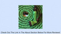 Quality Expandable Hose 75 Feet Green, Expanding, No Kinking, Flexible, Lightweight, Super Strong, Superior to As Seen On TV Pocket Hose, Flex-Able Hose, Magic Hose, Shrinking Hose, DAP Xhose, Flexable Hose, Expands to 3 Times it's Original Length, Water