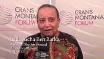 LALLA AÏCHA BEN BARKA - Crans Montana Forum (Jean-Paul Carteron) - African Women's Forum