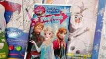 Disney Frozen Elsa Olaf DOLLAR TOYS $1 Disney Princess Anna Coloring Book Puzzle Toys Review