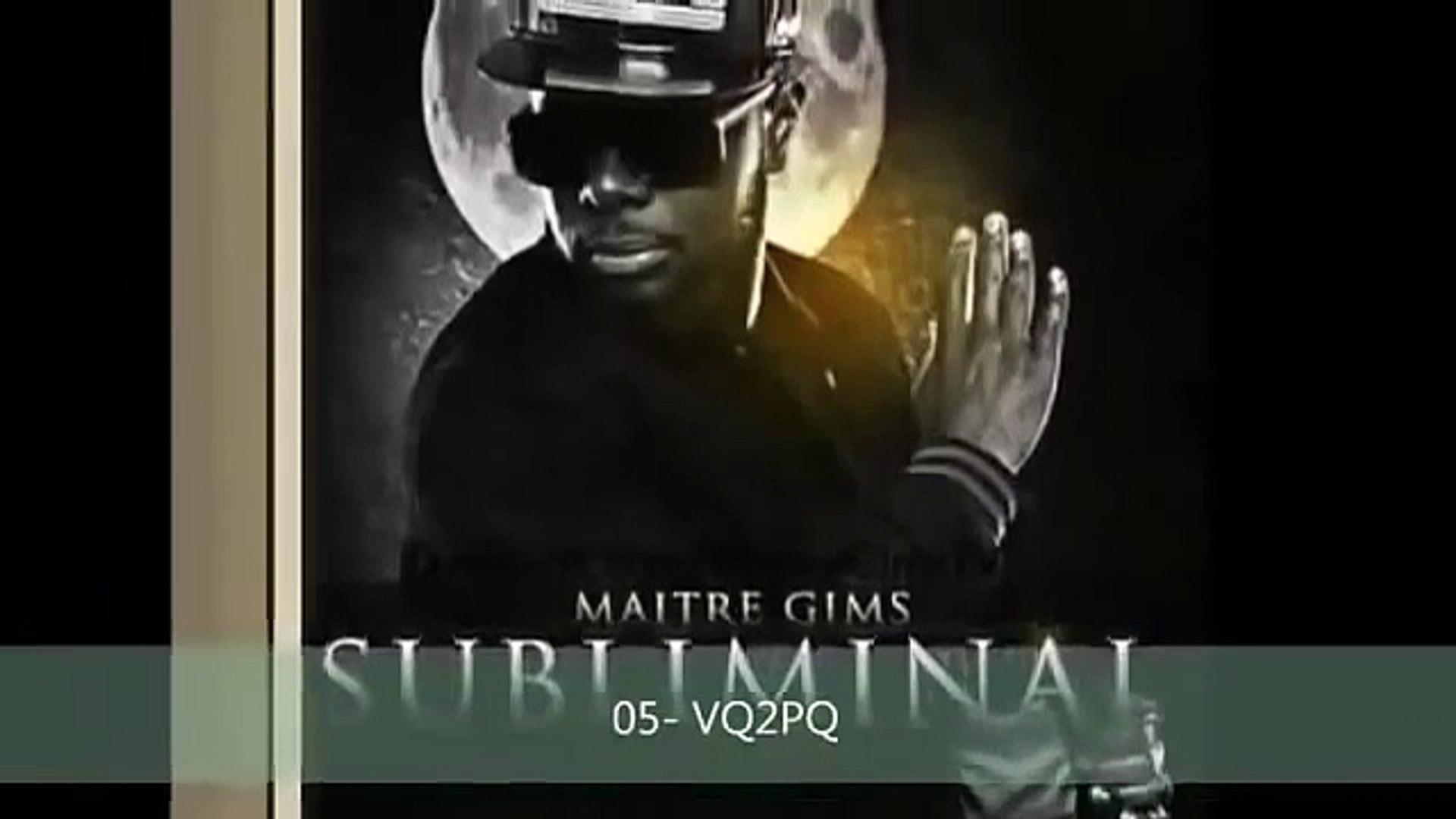 TÉLÉCHARGER ALBUM MAITRE GIMS SUBLIMINAL GRATUIT