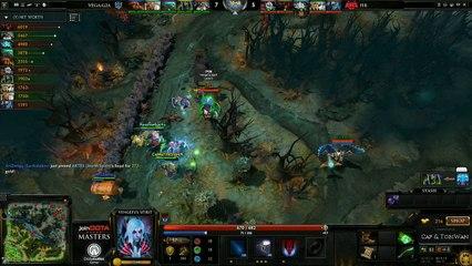 HellRaisers vs Vega Game 1 - joinDOTA Masters @TobiwanDota @DotaCapitalist