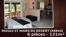 A vendre - Maison/villa - ST MARS DU DESERT (44850) - 6 pièces - 121m²