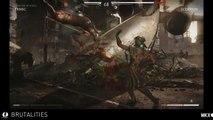 Mortal Kombat X - Scorpion Brutality Gameplay - Mortal Kombat 10