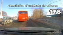 Compilation d'accident de voiture n°178 + Bonus / Car crash compilation #178