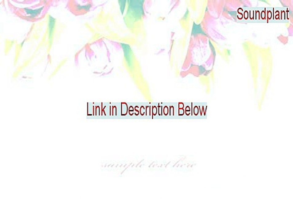 Soundplant Full - soundplant registration code