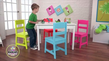 Kidkraft Highlighter Table & 4 Chair Set