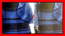 best loved 68e50 b0d22 The dress: Soluzione vestito bianco oro, blu nero (white ...