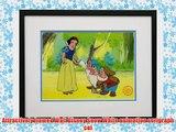 Snow White and the Seven Dwarfs Walt Disney Limited Edition Animation Cel Framed