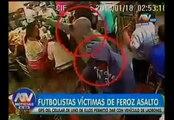 Sporting Cristal: César Pereyra y Matías Martínez fueron asaltados