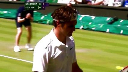 Roger Federer - Top 10 monster 2nd serves