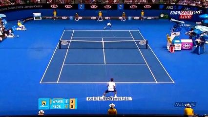Roger Federer - Top 10 All time Tweeners