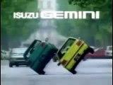 Une pub de voiture en mode années 80, bien fun : Isuzu Gemini