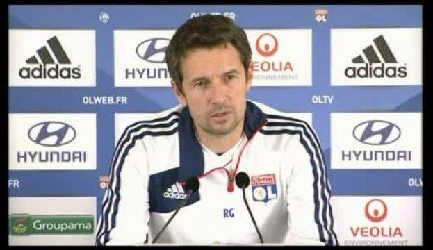 Foot - C.Ligue : Lyon avec Gourcuff et Anthony Lopes