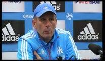 OM - Baup : «Pas la semaine des fins de matches»