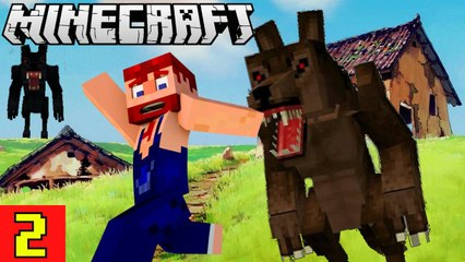 Werewolves are not Friendly Nik Nikam's EPIC Minecraft Modded Survival Ep 2