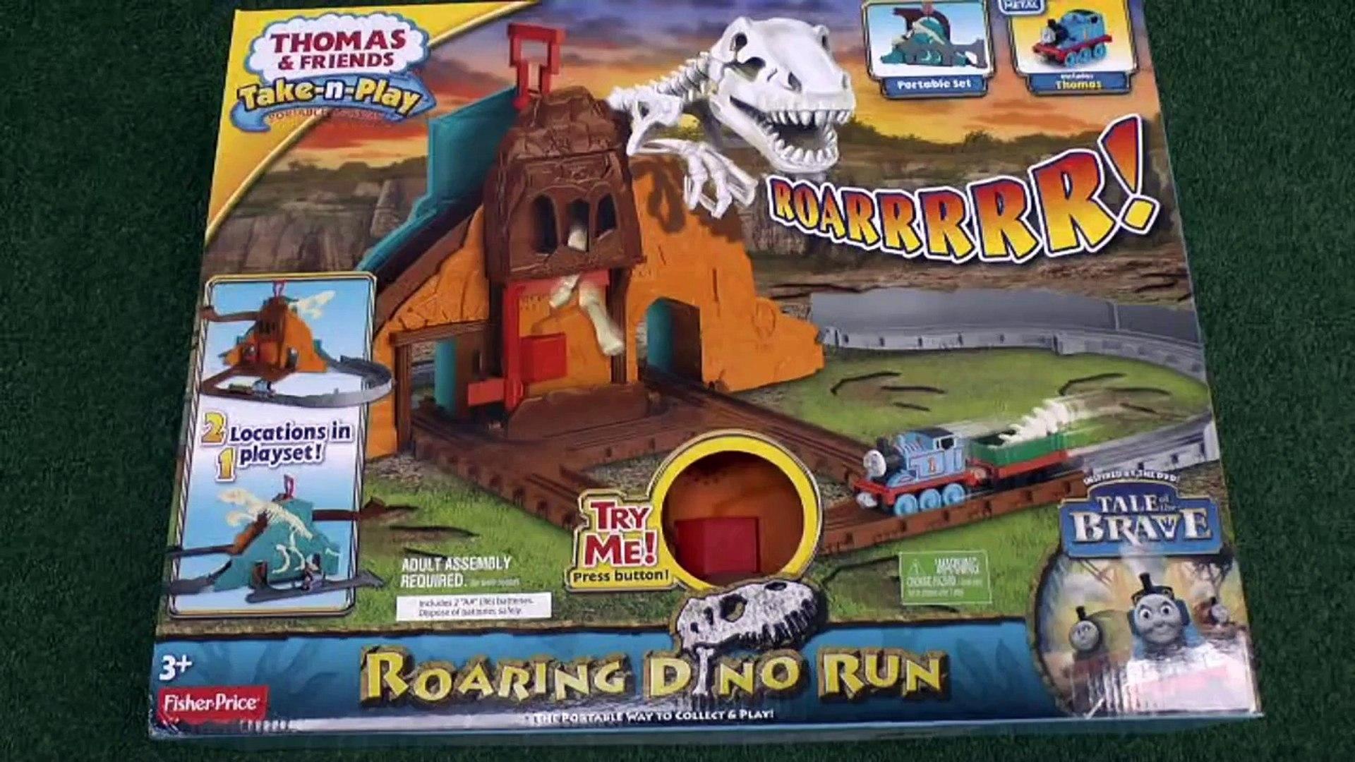 Thomas & Friends Tale Of The Brave Play Doh Take N Play Roaring Dino Run  Thomas Tank Play-Doh