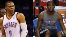 Russell Westbrook Leaves Kevin Durant Hanging