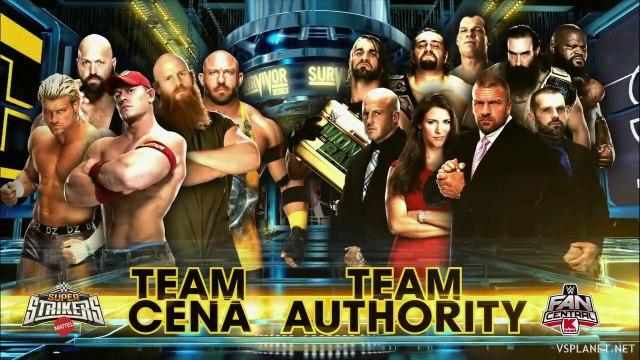Team Cena vs Team Authority, WWE Survivor Series 2014