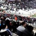 Marseille -  Caen: Les supporters quittent le stade après le 3ème but de Caen !
