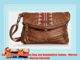 Rip Curl Linnae Shoulder Bag sac bandouliere femme Marron Marron chocolat