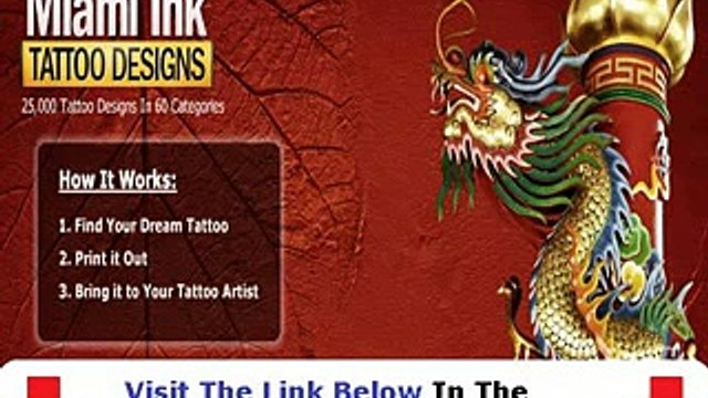 Don't Buy Miami Ink Tattoo Designs Miami Ink Tattoo Designs Review Bonus + Discount