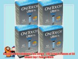 Onetouch Ultra Diabetic Test Strips - 200 Strips (4 Boxes of 50 Count) Exp 1 Year or More
