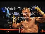 how to watch Chris Avalos vs Carl Frampton live boxingc