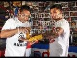 you can easily watch Chris Avalos vs Carl Frampton live boxing