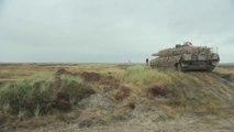 Danish Defence - Leopard 2A5 DK Main Battle Tank Live Firing