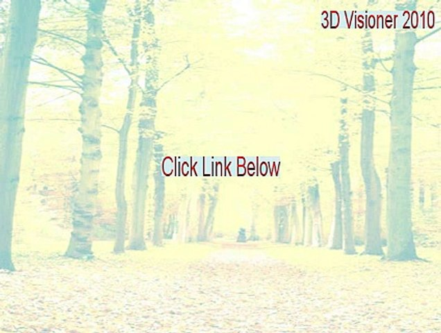 3d Visioner 2010 Full Download 3d Visioner 2010 License