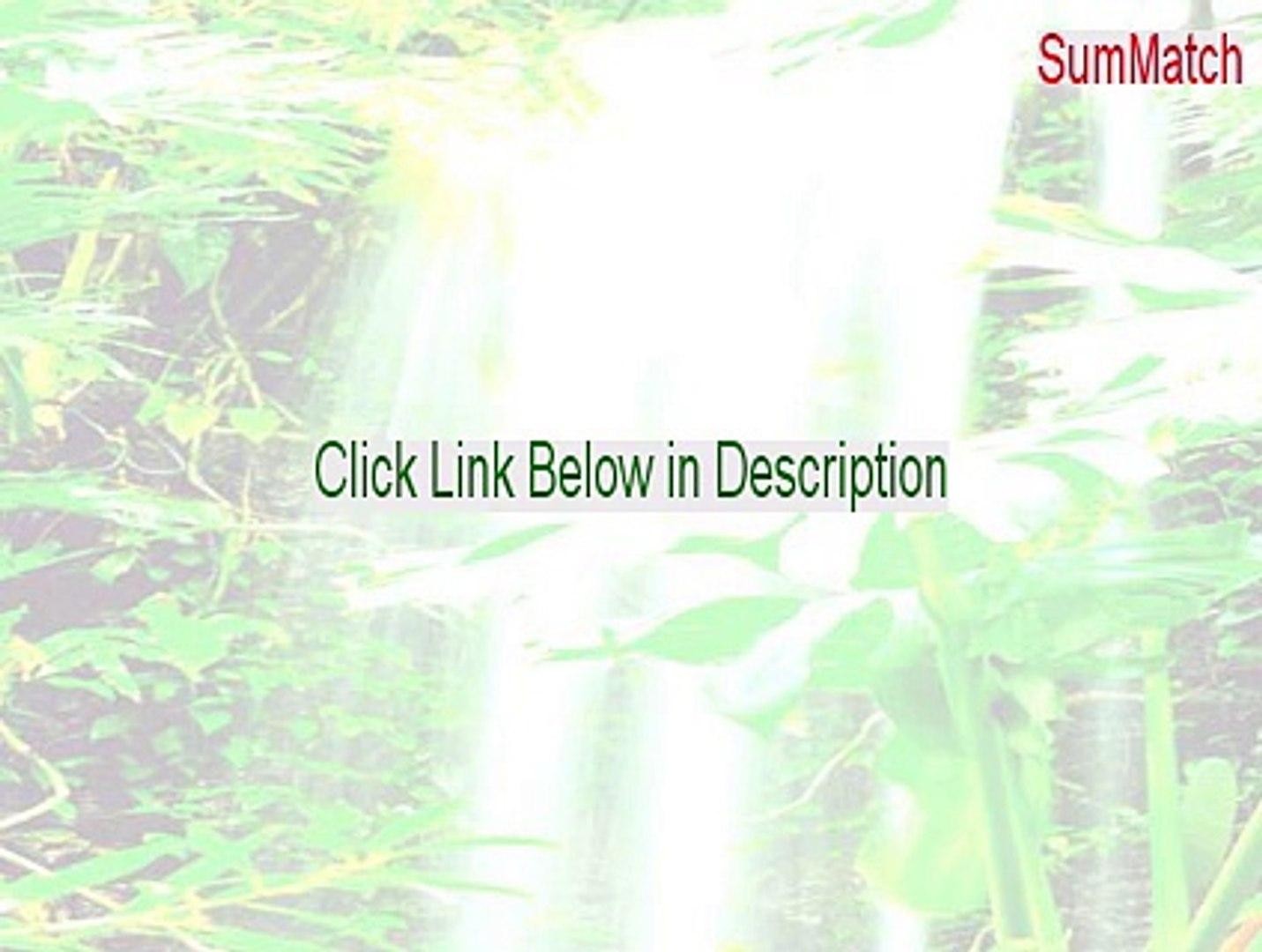 SumMatch Serial - Free Download